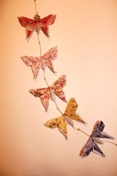 Origami Butterflies Wall Art By ShoppeAroundTheWorld On Etsy 1400 Beautifully Handmade