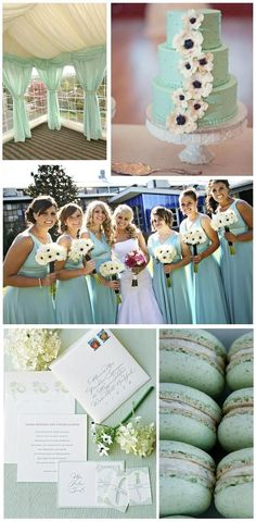 mint green wedding cake, wedding tent for spring wedding, Mint green bridesmaids dress Mint Green Wedding Makes the Deep Impression to Your Guests - See more at: http://www.dreamyweddingideas.com/boards/mint-green-wedding-makes-the-deep-impression-for-your-guests.120686/#sthash.jjOLlpxi.dpuf