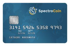 Best Bitcoin Wallet With Debit Card: SpectroCoin Prepaid Card 2018 Satoshi Nakamoto, Pre Paid, Bitcoin Wallet, Online Jobs, Cards, Internet, Free Shipping, Luxury, News
