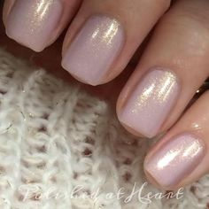 Polished At Heart: Simple and Sweet Valentines Day Manis - Pure Ice True Love's Kiss