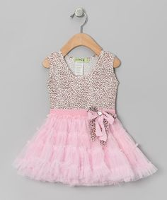 Take a look at this Pink Truffle Tutu Dress - Infant, Toddler & Girls by Le Pink on #zulily today!
