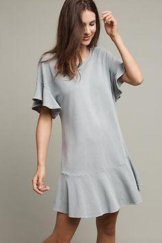 Saturday Sunday Odette Ruffle Sleeve Dress