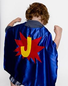 Personalized capes for kids and adults