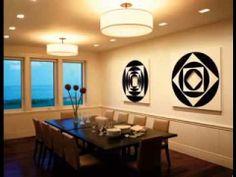 Dining room lighting design