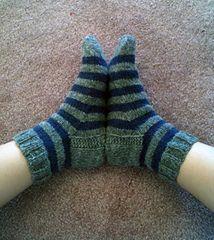 Ravelry: xsolv's Purple and Grey Socks
