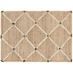 Introducing Rugs by Bunny Williams & Others Natural Fiber Rugs, Natural Rug, Dash And Albert, Lattice Design, Jute Rug, Sisal, One Kings Lane, Hand Weaving, Beach Ideas