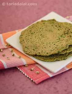 Sprouts Pancakes recipe | by Tarla Dalal |