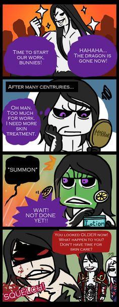 No time for Skin Care by sanaez on DeviantArt (hahahaha, I can't even...hahaha)