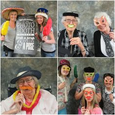 During National Nursing Home Week, residents, staff and visitors in Forest City got in on the fun with a Crazy Hat Day. Participants put on funny faces and hats, then struck a pose in the photo booth. #GoodSamaritanSociety