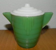 6 Available Akro Agate Small Stacked Disc Child/'s White Creamer