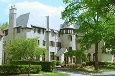 This is literally where I will be living next year!!! my castle. AGD - Sigma chapter house. University of Illinois