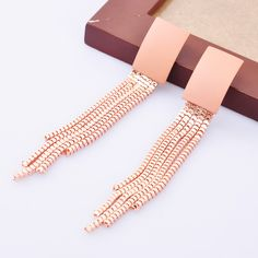 Find More Information about New Product Fashion Jewelry Pink Long Dangle Drop Earring Tassel Earring For Women Gift,High Quality earrings dragonfly,China earring jewelry box Suppliers, Cheap earings wholesale from Fashion Smile-Enjoy Your Life on Aliexpress.com