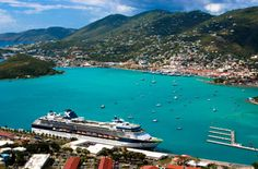 saint thomas. I wonder if I was on this ship when the picture was taken.