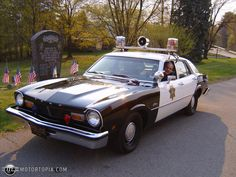 1976 Ford Maverick Police Car. Find parts for this classic beauty at http://restorationpartssource.com/store/