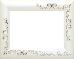 wedding frame 6 Borders And Frames, Wedding Frames, Our Love, Wedding Pictures, Projects To Try, Marriage, Mirror, Design, Home Decor