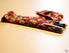 porte crayon DIY couture en liberty