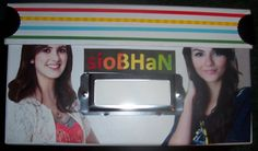 "The same friend who made me the ""TEAM TORI"" box also made me this box.  See my ""name"" on the front?"