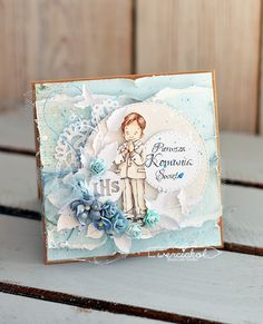 Inspiruje Weronika: kolorowe stempelki - Inspirations from Weronika: colored stamps Tiny Miracles, Vintage Cards, Cardmaking, Stamps, Scrap, Color, Inspiration, Design, Cards