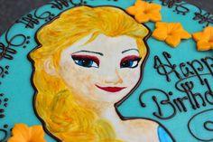 TORTEN LUST: {Anleitung} Frozen Torte mit Elsa
