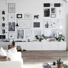 Feature Wall #featurewall #homewares #pictureframes #scandinavian #livingroom #livingroominspo #sofa #timberfloors #whiteintertiors #furniture #furnitureinspo #interiors #interiordesign by harpersproject
