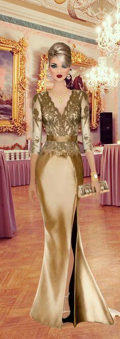 Fashion Dolls, Fashion Art, Fashion Show, Womens Fashion, Fashion Design, Beautiful Evening Gowns, Evening Dresses, December Outfits, Maxi Outfits