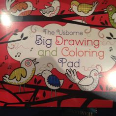 What a great activity book!  This book is about the size of a placemat.  perfect to bring to restaurants with a box of crayons.  The tear off pages make it easy to share. www.familyreadinghabit.com