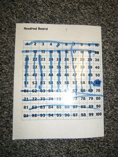 Hundred Board games and activity ideas