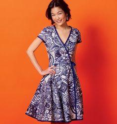 2cc2e896dafa McCall s Sewing Pattern M6959 Misses  Wrap Dresses and Belt