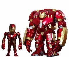 ARTIST MIX Avengers IRON MAN MARK 43 XLIII & HULKBUSTER DX Set Figure Hot Toys