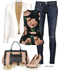 chic: peplum pretty