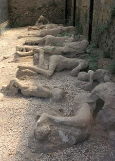 Important archaeological finds of our time. Pompeii, the ancient Roman city, buried during a volcanic eruption in 79 AD when Mount Vesuvius exploded. It was lost for nearly 1700 years...