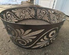 , Fire Pit / Circle & Diamond Fire Ring # nail feature There are many issues that may finally entire your yard, like an existing bright picket. Fire Pit Party, Diy Fire Pit, Fire Pit Backyard, Fire Pits, Fire Pit Video, Fire Pit Gallery, Fire Pit Materials, Fire Pit Furniture, Fire Pit Designs