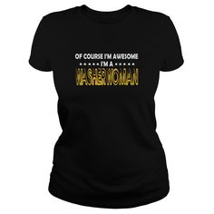 Washerwoman Of Course I Am Awesome I Am Washerwoman - TeeForWasherwoman #gift #ideas #Popular #Everything #Videos #Shop #Animals #pets #Architecture #Art #Cars #motorcycles #Celebrities #DIY #crafts #Design #Education #Entertainment #Food #drink #Gardening #Geek #Hair #beauty #Health #fitness #History #Holidays #events #Home decor #Humor #Illustrations #posters #Kids #parenting #Men #Outdoors #Photography #Products #Quotes #Science #nature #Sports #Tattoos #Technology #Travel #Weddings…