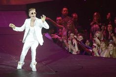 Bieber @Music Biz Mentor.com : Toronto native Justin Bieber at concert recently 2012