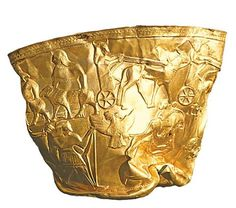 A fresh analysis of the Iron Age city of Hasanlu in Iran shows that the site's most famous find, known as the Gold Bowl of Hasanlu, was being looted by enemy soldiers who were killed in a building collapse. http://www.archaeology.org/issues/163-1501/trenches/2823-trenches-hasanlu-tepe-ancient-looters