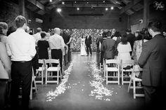 Indoor ceremony at The Venue