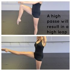 There are many ways you can improve your leaps/Saut de Chat. Most importantly dancers need a good balance of strength and flexibility in order to achieve a full split in the air. Dance Teacher, Dance Class, Jazz Dance, Dance Hip Hop, Dancer Workout, Ballet Body Workouts, Dance Moms Workout, Barre Workout, Dance Aesthetic