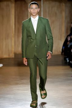 It's Not Easy Being Green - Givenchy SS12