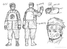 the last naruto movie character designs - Chouji Akimichi