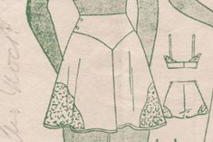 A Few Threads Loose: Starting the Tap Pants - Lingerie Sew Along Part 7