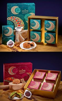 Mysterious Moonlight on Packaging of the World - Creative Package Design Gallery Cake Packaging, Gift Box Packaging, Food Packaging Design, Packaging Design Inspiration, Food Branding, Cardboard Packaging, Luxury Packaging, Identity Branding, Visual Identity