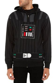 Star Wars Darth Vader Hoodie - I want it! Darth Vader Hoodie, Geeks, Star Wars Outfits, Cheer Shirts, Geek Chic, Hot Topic, Look Fashion, Cool Outfits, Geek Stuff