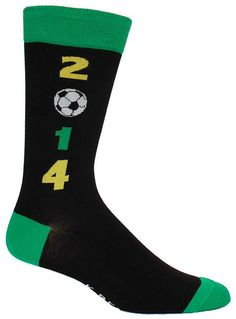 Brazil hosts the 2014 Soccer World Cup championships this year from 12 June to 13 July Brazil World Cup, World Cup 2014, Fifa World Cup, Soccer Fifa, Soccer Boys, Soccer World, Striped Socks, Fashion Socks, World Cup