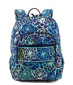 Vera Bradley Campus Backpack  Dillards Vera Bradley Backpack de2cbbf43805f