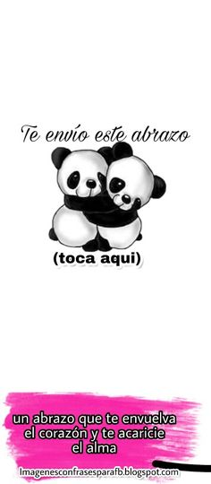 Te envio un abrazo magico Happy Day Quotes, Good Day Quotes, Good Morning Quotes, Love Quotes, Bisous Gif, Believe In You, Love You, Cute Messages, Spanish Quotes