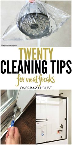 Calling all neat freaks! Try these cleaning tips and trick that will satisfy your desire for a sparkling home.