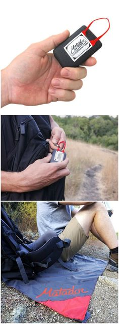 Matador Mini Pocket Blanket The Ultralight Blanket that Fits on your Keychain