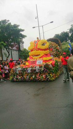 Culture & Flowers Parade, Surabaya City (*^﹏^*)