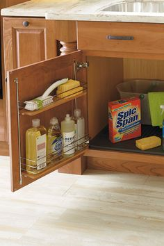 This heavy-duty rubber mat is capable of storing up to 5 quarts of liquid, and helps protect cabinets from leaks, drips, spills, and more.