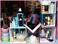 twice a month ill design our front with different themes .:) to attract more customers.